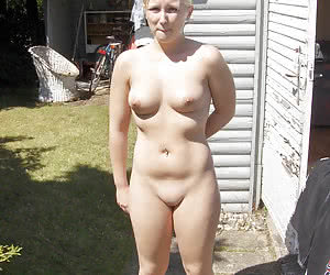 Nude outdoors chubby idea Excuse