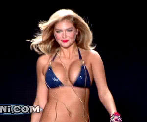 Kate Upton animated GIF
