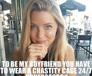 Category: chastity captions